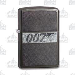 Zippo James Bond 007 Iced Dusk Gray