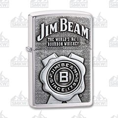Zippo Jim Beam Ribbon Emblem