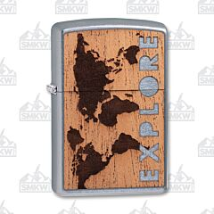 Zippo Woodchuck USA Explorer Lighter