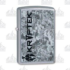 Zippo Street Chrome Kryptek Camo Lighter
