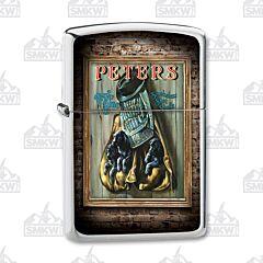 Zippo Remington Peters True Blue Lighter
