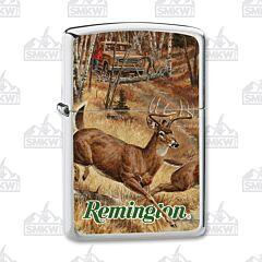 Zippo Remington Whitetails Cut Over Lighter