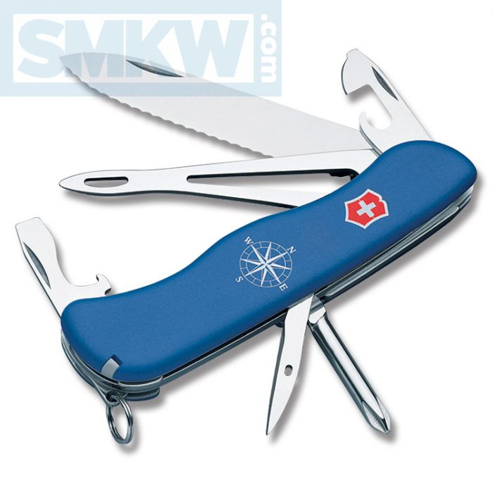 Knives for Sale at SMKW Victorinox Swiss Army Helmsman Blue ...