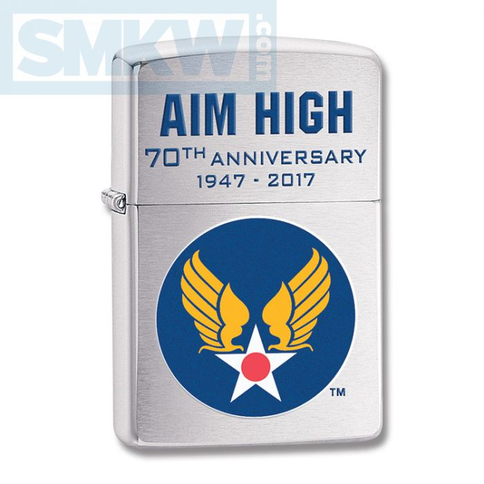 Zippo Hap Arnold Wings Lighter Smoky Mountain Knife Works