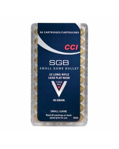 CCI SGB 22 LR 40 Grain Lead Flat Nose 50 Rounds