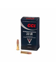 CCI Sub-Sonic 22 LR 40 Grain Copper Plated Segmented Hollow Point 500 Rounds
