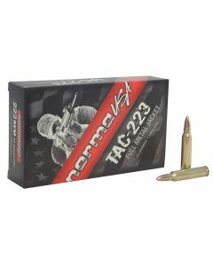 Norma USA TAC 223 Remington 55 Grain Full Metal Jacket 20 Rounds