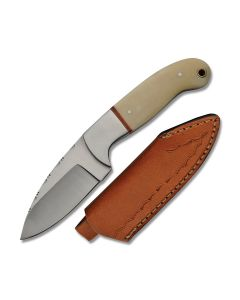 Szco Filework Hunter Stainless Steel Blade Bone Handle