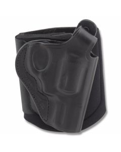 "Bianchi Model 150 Negotiator Ankle Holster S&W J Frame 3.46"" BBL Black Right Hand"