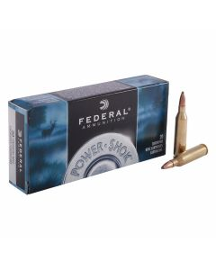 Federal Power-Shok 243 Remington 80 Grain Jacketed Soft Point 20 Rounds