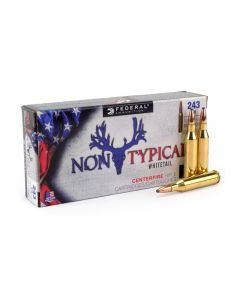 Federal Non-Typical Whitetail 243 Winchester 100 Grain Soft Point 20 Rounds