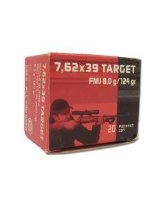 Geco 7.62x39mm 124 Grain Full Metal Jacket 20 Rounds