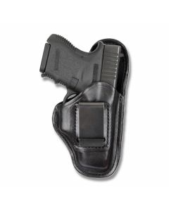 BIANCHI Model 100 Professional Right Hand Carry Black Leather Holster Size 9A