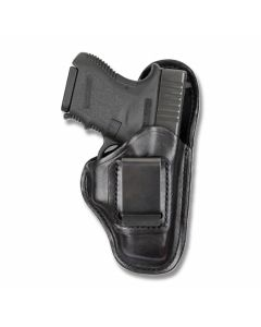 BIANCHI Model 100 Professional Right Hand Carry Black Leather Holster Size 14
