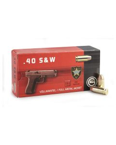 Geco 40 S&W 180 Grain Full Metal Jacket 50 Rounds