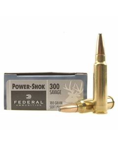 Federal Power-Shok 300 Savage 180 Grain Soft Point 20 Rounds