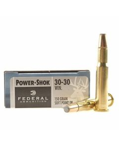 Federal Power-Shok 30-30 Winchester 150 Grain Soft Point 20 Rounds