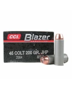CCI Blazer 45 Colt 200 Grain Jacketed Hollow Point 50 Rounds