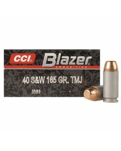 CCI Blazer 40 S&W 165 Grain Total Metal Jacket 50 Rounds