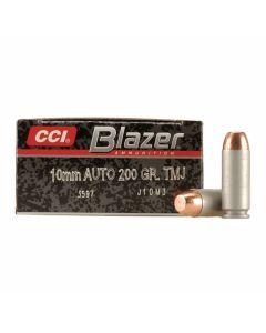 CCI Blazer 10mm 200 Grain Total Metal Jacket 50 Rounds