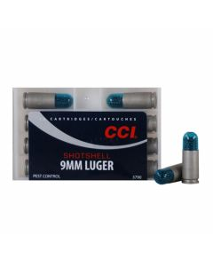 CCI Shotshell 9mm 53 Grain #12 Shot 10 Rounds
