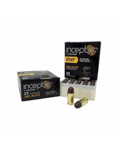 Polycase Inceptor 380 ACP 65 Grain Round Nose Lead Free 25 Rounds