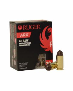 Ruger Self Defense 40 S&W 97 Grain Frangible ARX 20 Rounds