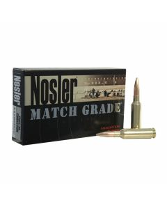 Nosler Match Grade 6.5mm-284 Norma 140 Grain Hollow Point Boat Tail 20 Rounds