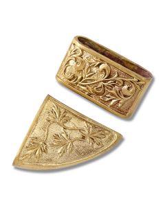 Swan Lake Knives Bronze 2-Piece Scabbard Set Model 440182B