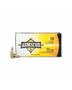 Armscor USA 22 WMR 40 Grains Jacketed Hollow Point 50 Rounds