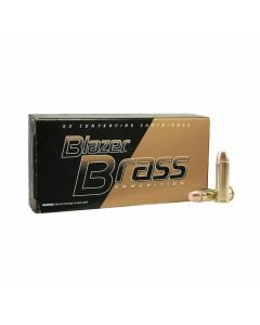 CCI Blazer Brass 38 Special 125 Grain Full Metal Jacket 50 Rounds