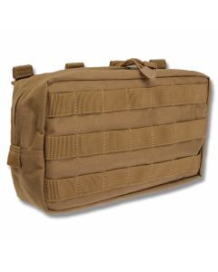 5.11 6x10 Horizontal Pouch For LBE Vests - Flat Dark Earth