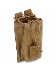 5.11 Radio Pouch For LBE Vests - Flat Dark Earth