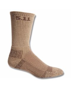 "5.11 Level I 6"" Sock - Coyote Brown"