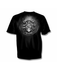 Chris Kyle Frog Foundation Stone and Steel T-Shirt - XXL