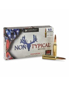 Federal Non-Typical Whitetail 6.5 Creedmoor 140 Grain Soft Point 20 Rounds