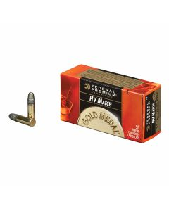 Federal Premium Gold Medal 22 LR 40 Grain Solid Point 50 Rounds