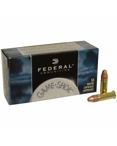 Federal Game Shok 22 LR 31 Grain Copper-Plated Hollow Point 50 Rounds