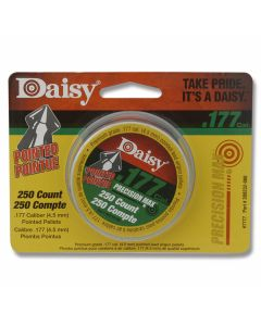 Daisy .177 Caliber (4.5mm) 250ct Pointed Nose Pellet Tin