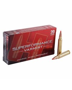 Hornady Superformance 223 Remington/5.56 NATO 53 Grain Polymer Tip 20 Rounds