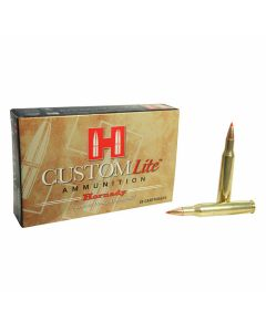 Hornady Custom Lite 270 Winchester 120 Grain Polymer Tip Boat Tail 20 Rounds