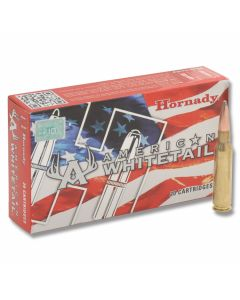 Hornady American Whitetail 7mm-08 Remington 139 Grain Interlock Jacketed Soft Point 20 Rounds