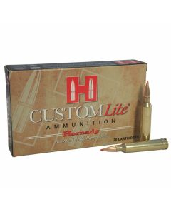 Hornady Custom LIte 7mm Remington 139 Grain SST Polymer Tip Boat Tail 20 Rounds