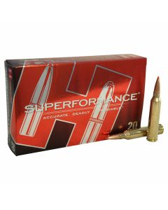 Hornady Superformance 7mm Remington 162 Grain SST Polymer Tip Boat Tail 20 Rounds