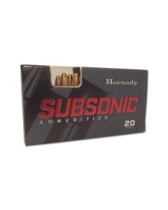 Hornady Subsonic 300 AAC Blackout 190 Grain Sub-X Subsonic Flex Tip Expanding 20 Rounds