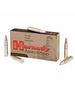 Hornady Custom 300 AAC Blackout Subsonic 208 Grain Boat Tail 20 Rounds