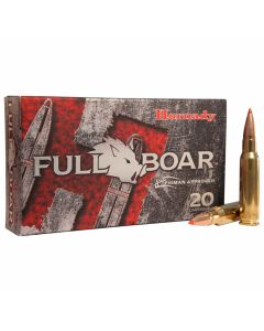 Hornady Full Boar 308 Winchester 165 Grain GMX Polymer Tip Boat Tail 20 Rounds