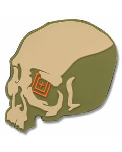 5.11 Skull Shot Patch - Sand