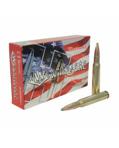 Hornady American Whitetail 30-06 Springfield 180 Grain Interlock Jacketed Soft Point 20 Rounds