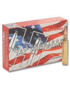 Hornady American Whitetail 25-06 Remington 117 Grain Interlock Spire Point Boat Tail 20 Rounds